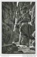 Grindelwald - Die Gletscherschlucht Am Unteren Grindelwaldgletscher - Foto-AK 50er Jahre - BE Berne