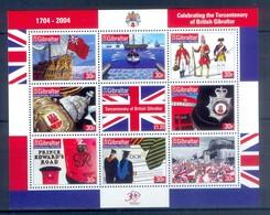 K30- GIBRALTAR 2004. 300th ANNIVERSARY OF GIBRALTAR BRITISH COLONY. - Gibraltar