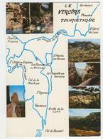 38 - Le Vercors Touristique          Multivues - Ohne Zuordnung