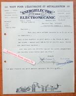 """""""Energielectric"""" Bruxelles-Jette 1945 - Belgium"""