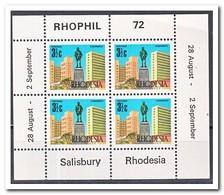 Rhodesië  1972, Postfris MNH, Stamp Exhibition RHOPIL 72 In Salisbury - Zimbabwe (1980-...)