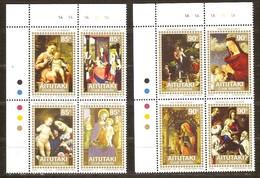 Aitutaki 1994 Yvertn° 554-561 *** MNH Cote 13 Euro Noël Christmas Kerstmis - Aitutaki