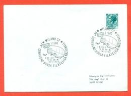 AERONAUTICA-DIRIGIBIL- MILANO-ANNIVERSARIO ENRICO FORLANINI--- MARCOFILIA - [7] République Fédérale