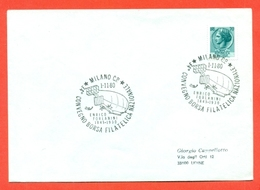 AERONAUTICA-DIRIGIBIL- MILANO-ANNIVERSARIO ENRICO FORLANINI--- MARCOFILIA - Storia Postale