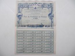 1 X Action - Société Sully, Industrie Laitière - Tours, 1908 - Agriculture