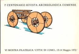 Old Truck Filatelic Show 1972 ComoItalia - Archaeology