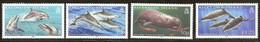 Ascension 2009  Yvertn° 966-969 *** MNH Cote 11,50 Euro Faune Marine Dauphins Dolfijnen - Ascension (Ile De L')