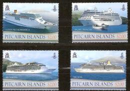 Pitcairn Islands 2013 Yvertn° 797-800 *** MNH Cote 20,80 Euro Bateaux Ships Boten - Pitcairn