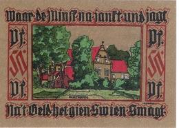 Deutschland Notgeld 50 Pfennig Mehl782.1 LEER /09M/ - Lokale Ausgaben