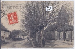 LESSARD-EN-BRESSE- PLACE DE L EGLISE - Sonstige Gemeinden