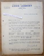 """Papier & Carte """"Spécialité De Tabac Semois, Louis Lambert, Corbion-sur-Semois 1947 - Belgium"""