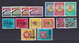 1972 Libia Libya 6 SERIE MNH** : Fiera Tripoli, Fed. Rep. Arabica, Monaco, Sulelman En Barumi, Sanità, Ann. Rivoluzione - Libia