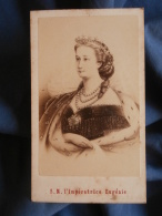 Photo CDV Neurdein à Paris - S.M. L'Impératrice Eugénie Circa 1860 L389 - Photos