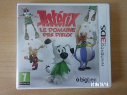 Nintendo 3DS Astérix Le Domaine Des Dieux - Electronic Games