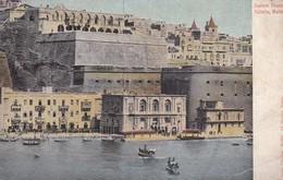 Postcard Custom House Valletta Malta By John Critien Early Undivided Back My Ref  B12383 - Malta