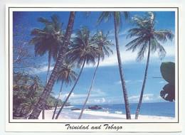 TT.- Trinidad And Tobago. MORUGA BEACH. Zee. Strand. Palmbomen. - Trinidad