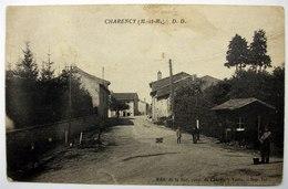 54 CHARENCY (M. -et-M.) - Le Poste De Douane à La Sortie Du Village - Animée - Charency-Vexin - Autres Communes