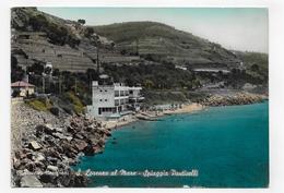 (RECTO / VERSO) SAN LORENZO AL MARE - PLAGE PONTICELLI - CPSM GF VOYAGEE - Imperia