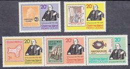 Christmas Island  Timbres Neufs Avec Charnière N° SG 113 à 117; Sc 90 - Christmas Island