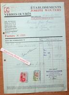 Verres Ouvrés, Ets Joseph Wouters, Avenue Milcamps & Grande Rue Au Bois, Bruxelles 1933 - Belgium
