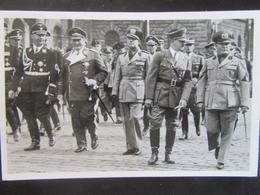 Postkarte Postcard Himmler Göring Hitler Ciano Mussolini - München 1938 - Briefe U. Dokumente