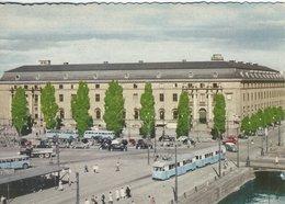 Göteborg - Postoffice - Tram - Busses.   Sweden. # 07835 - Schweden
