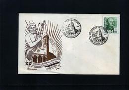 Spain / Spanien 1955 Philatelic Exibition Interesting Cover - 1951-60 Briefe U. Dokumente