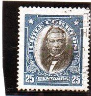 B - 1911 Cile - Manuel Montt - Cile