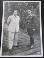 Postkarte Postcard Mölders Und Göring - Luftwaffe - Ritterkreuz - Briefe U. Dokumente