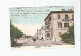 VIARREGIO VIALE MANIN 1905 - Viareggio