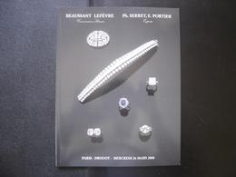 Catalogue Vente Aux Encheres BIJOUX ORFEVRERIE JEWELERY 66 Pages BEAUSSANT LEFEVRE - Kunst