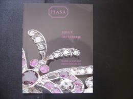 Catalogue Vente Aux Encheres BIJOUX ORFEVRERIE JEWELERY 52 Pages PIASA - Kunst