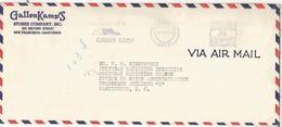 ESTADOS UNIDOS USA 1943 GALLER  KAMP ZAPATO SHOE FRANQUEO MECANICO METER - Textiles