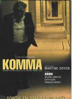 SPECTACLE CINÉMA FILM  KOMMA   EDIT. BOOMERANG.BE - Affiches Sur Carte