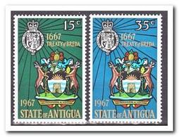 Antigua 1967, Postfris MNH, Coat Of Arms Change, 300 Years Contract Of Breda - Antigua En Barbuda (1981-...)