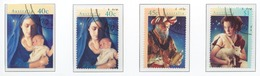 Australia 1996 Mi# 1606-09 (CTO) CHRISTMAS - 1990-99 Elizabeth II