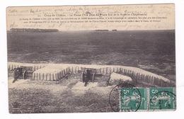 Camp De Châlons, Châlons-en-Champagne (Marne), La Plaine. A Voyagé En 1911 - Casernes