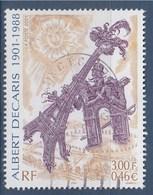 = Centenaire De La Naissance Du Dessinateur Et Graveur Albert Décaris N°3435 Oblitéré - Gebraucht