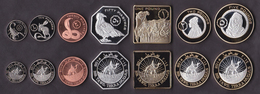 Bir Tawil 7 Coins Set 2014 - Monnaies