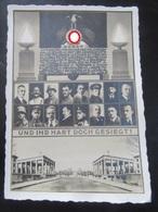 """Postkarte Postcard Propaganda Hitlerputsch 1923 München """"und Ihr Habt Doch Gesiegt"""" Ehrentempel - Photo Hoffmann - Briefe U. Dokumente"""