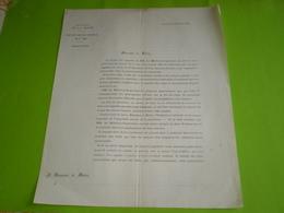 1882 Préfecture De La Drôme: Protection Des Enfants Du 1er âge,placement,retrait,changement De Nourrice,décès .. - Documents Historiques