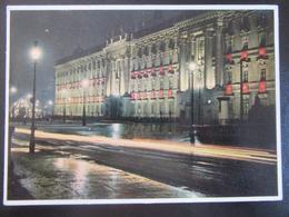 Postkarte Postcard Berlin Bei Nacht - Schloss Unter Den Linden - Deutschland