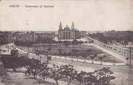 Postcard Malta Panorama Of Floriana My Ref  B12389 - Malta