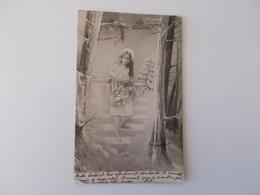 CPA.- Joyeux Noël  , Bonne Année , 1902 , No Repro - Andere