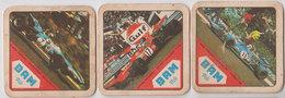 Brasserie  Lot 3 Sb Formule 1   1971 - Sous-bocks