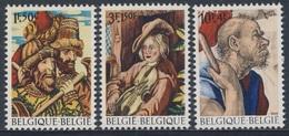Belgie Belgique Belgium 1969 Mi 1562 /4 YT 1505 /7 ** Tapestries /  Wandteppiche / Tapisseries - Cultural Works - Textiel