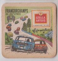 Brasserie Sb Francorchamps 1972 - Sous-bocks