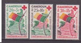 CAMEROUN       N°  YVERT     314/316   NEUF AVEC CHARNIERES        ( Char 04/A ) - Cameroon (1960-...)