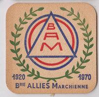 Brasserie Des Alliés Marchienne Sb  1970 - Sous-bocks