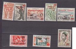 CAMEROUN       N°  YVERT     320/327     NEUF AVEC CHARNIERES        ( Char 04/A ) - Cameroon (1960-...)